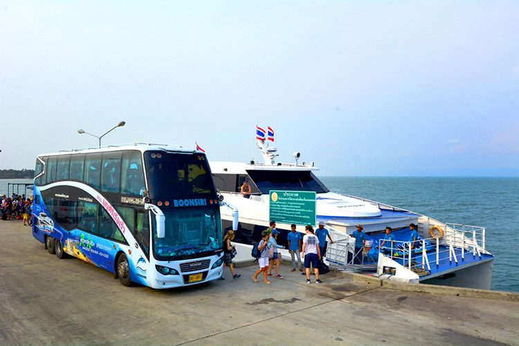 BY VIP VAN + HIGH SPEED FERRY PACKAGE